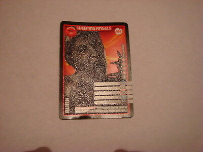 Dr Who monster invasion cards, X 10 rare ultra rare and super rare 3d.
