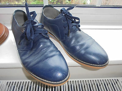 aokang 255 jk leather lace up shoes size 7 / 40 ladies