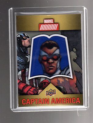 2016 Upper Deck  Marvel Annual  Character CP-1 Patch card
