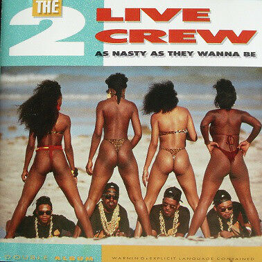 """2 Live Crew As Nasty As They Wanna Be Double 12"""" Vinyl Album Rap Hip Hop X RATED"""