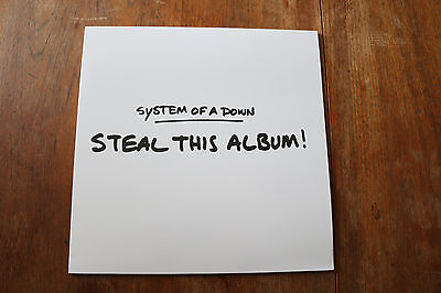 System Of A Down STEAL THIS ALBUM! new issue 180g vinyl