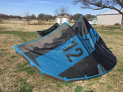 2016 North Neo 12M Kite complete with 2016 Bar with 24M lines and bag