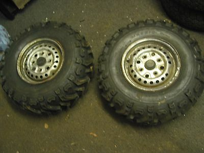 Honda TRX 350D Quad (1987)-Front wheels with brand new tyres