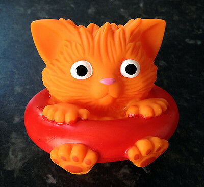 Cat in a Float - floating bath toy