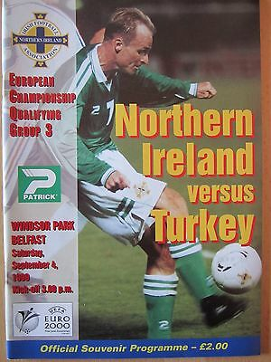 NORTHERN IRELAND v TURKEY         ECQ         04.09.99
