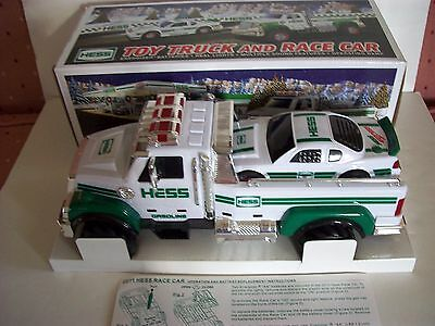 2011 Hess Toy Truck And Race Car Mint In The Original Box