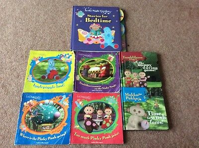 In The Night Garden Books Bundle Stories For Bedtime Upsy Daisy Iggle Piggle