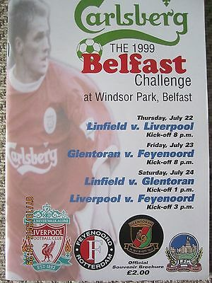 Belfast Challenge Tournament 1999 (Liverpool/Linfield/Feyenoord/Glentoran