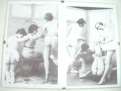 """2 Female Spanking Whipping Pictures in 8""""x6"""" Frame.Martinet.Fetish."""
