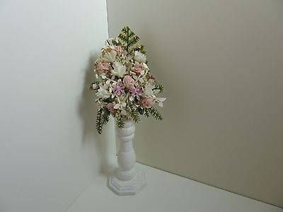 Dolls House Miniature 1:12 Scale Wedding Shop Handcrafted Flower Display