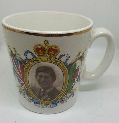 Investiture Of The Prince Of Wales Mug 1969
