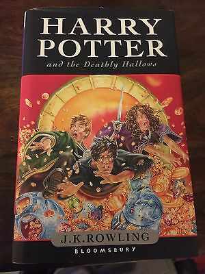 FIRST EDITION Harry Potter and the Deathly Hallows J. K. Rowling Hardback 2007
