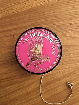 Vintage The Duncan Bird yoyo - retro / fab