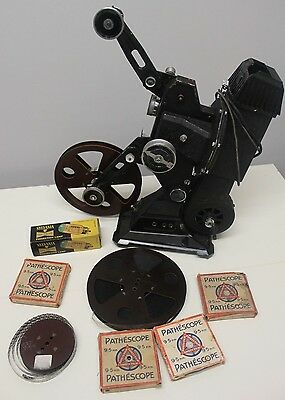 Vintage 200B 9.5 Pathescope Projector Spares or Repairs