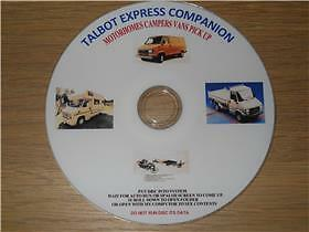Talbot Express Companion Service Restoring  Workshop Manuals Guides Tutorials