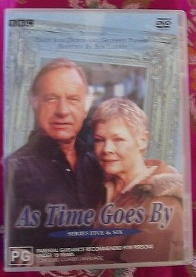 As Time Goes By Series 5+6 Very Good Condition 3 Disc Set Rare N Cheap Free Post
