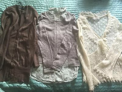 Womens Bundle Jumpers Size 10 By Zara +