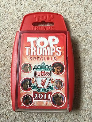 Winning Moves Top Trumps - Sealed New Liverpool 2011