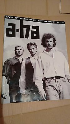 Vintage Tour Programme: A-Ha: East Of The Sun West Of The Moon: Morton Harkett