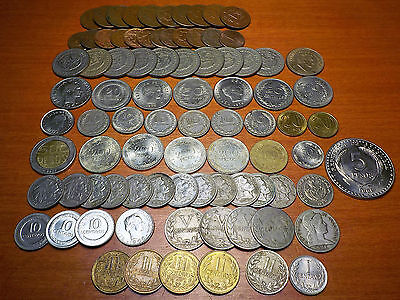 Mixed Lot of Circulated Coins from Columbia  - 2