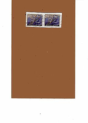 Scott 4438 Mackinac Bridge  Priority Mail Used Stamps On Paper