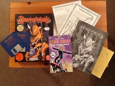 Amiga Game ~ Demoniak by Palace - Original Special Edition Complete Boxed Set