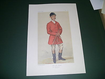 Vanity Fair Print Tom Firr The Quorn Huntsman  Fox Hunting  Low Post