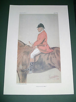 Vanity Fair Print A Leicestershire Man Mr Fernie Tailby Fox Hunting Low Post