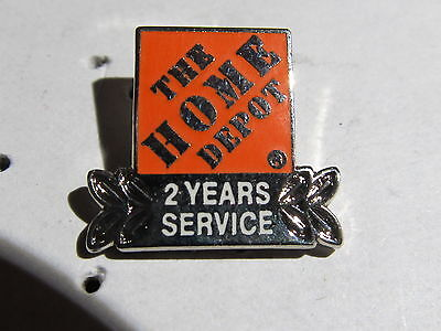 New Home Depot 2 years of service  Lapel Pin