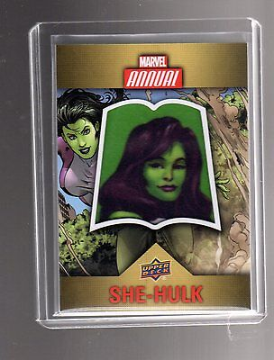 2016 Upper Deck  Marvel Annual  Character CP-6 Patch card