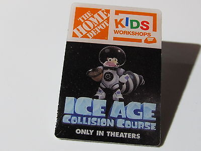 New Home Depot kids workshop ice age  Lapel Pin