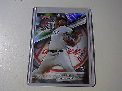 2016 Topps Bowman's Best Base Refractor Rookie Card Of Luis Severino RC Yankees