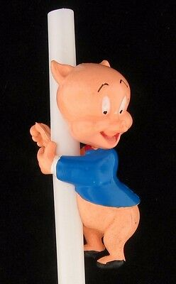 Topper Porky Pig Pencil Straw Hugger Warner Brothers Looney Tunes Wb Store 9700A