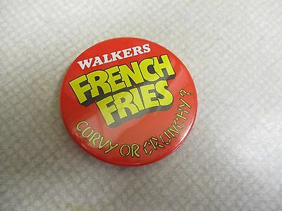Walkers French Fries Badge