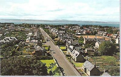 Nairn, Highland - Seabank Road - Colourmaster postcard c.1970s