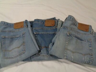 Lot of 3 Pairs Men's Jeans American Eagle Boot Cut Size 34/30