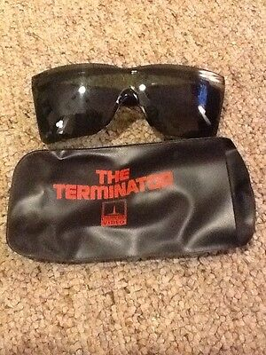Thorn EMI The Terminator Sunglasses With Case