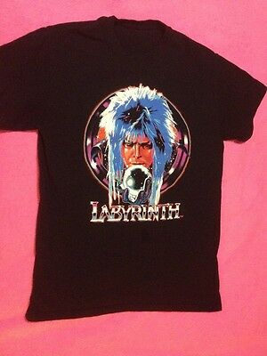 Labyrinth David Bowie Vintage Style Shirt Small Retro Cool Clothing