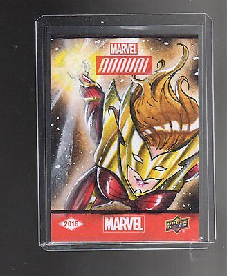 2016 Upper Deck  Marvel Annual  Israel Artega sketch card