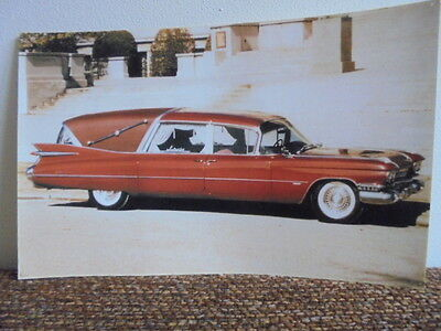 1959 Cadillac Advertisements 1929 1947 1959 1960 1963 1964  1959 Hearse Picture