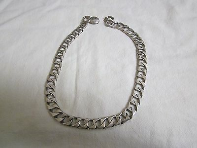 Men's 950 Sterling Silver Heavy Chain Necklace