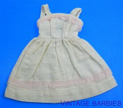 American Character Tressy Doll White Dress ~ Vintage 1960's