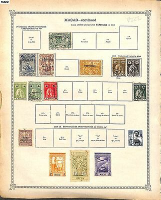 v222-Portugal Colonies- Mint & Used