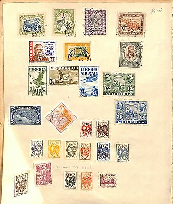 v220-Liberia Collection-Mint & Used