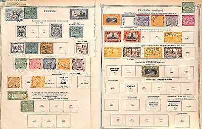 v206-Panama Collection Mint & Used