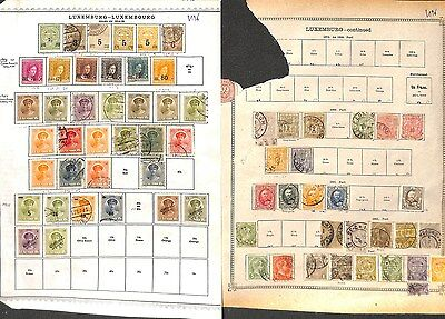 V196-Luxembourg Selection-Mint & Used