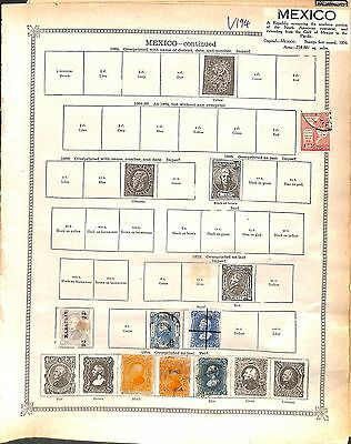 V194-Mexico Collection-Mint & Used