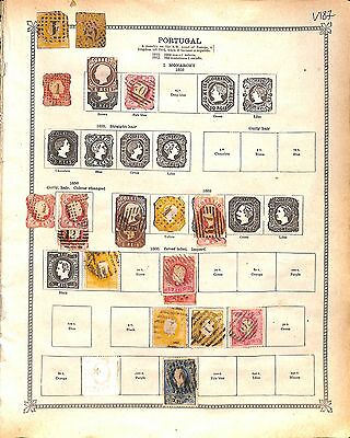 V187-Portugal Colonies- Mint & Used