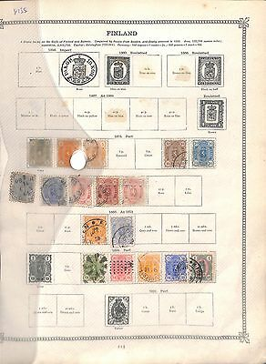 v135-Finland Collection-Mint & Used