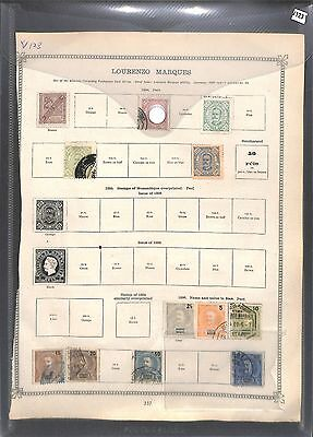 v123-Portugal Colonies- Mint & Used